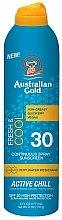 Düfte, Parfümerie und Kosmetik Erfrischendes und kühlendes Sonnenschutzspray SPF 30 - Australian Gold Freash&Cool Continuous Spray Sunscreen SPF30