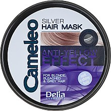 Düfte, Parfümerie und Kosmetik Haarmaske - Delia Cameleo Silver Hair Mask
