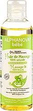 Düfte, Parfümerie und Kosmetik Bio Massageöl für Babys - Alphanova Bebe Massage Oil 100% Natural