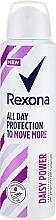 Düfte, Parfümerie und Kosmetik Deospray Antitranspirant - Rexona Daisy Power Antiperspirant Deodorant