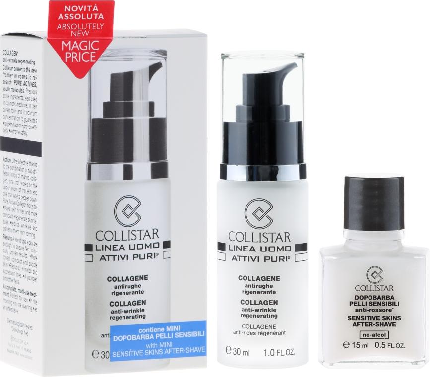 Set - Collistar Uomo Attivi Puri Collageno Anti-Arrugas Regenerante — Bild N1