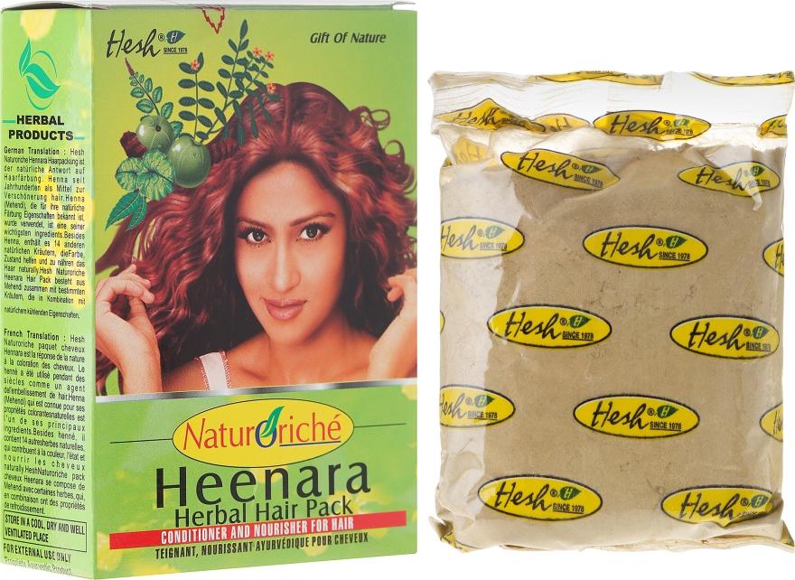 Henna für eine natürliche Färbung - Hesh Hennara Herbal Hair Pack
