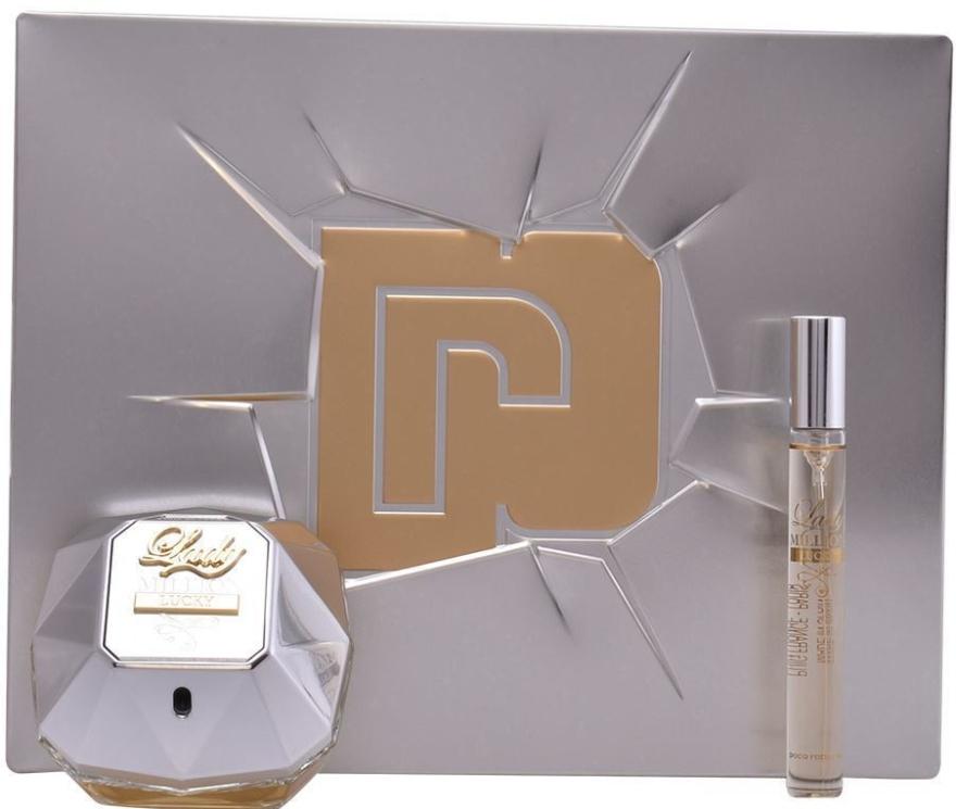 Paco Rabanne Lady Million Lucky - Duftset (Eau de Parfum 80ml + Eau de Parfum Mini 10ml)