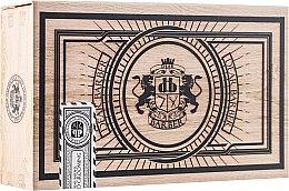 Düfte, Parfümerie und Kosmetik Bart- und Schnurrbartpflege-Set - Dear Barber Collection III Beard Grooming Set (Öl/30ml + Wax/25ml + Kamm/1St.)
