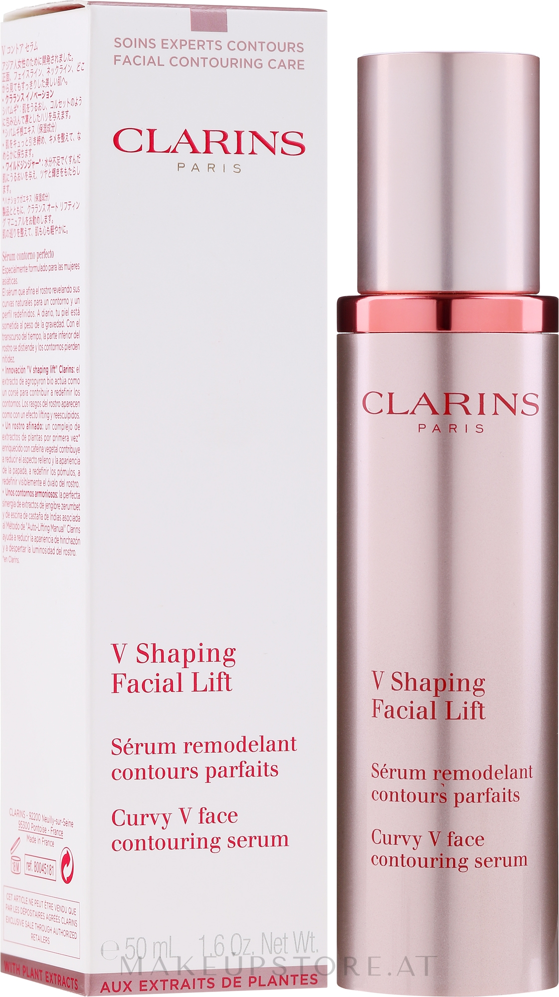 Modellierendes Gesichtsserum mit Lifting-Effekt - Clarins Shaping Facial Lift Total V Contouring Serum — Bild 50 ml