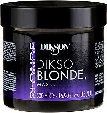Düfte, Parfümerie und Kosmetik Regenerierende Haarmaske mit Weizenkeimöl - Dikson Dikso Blonde Mask