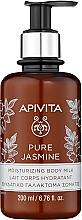 Düfte, Parfümerie und Kosmetik Feuchtigkeitsspendende Körpermilch mit Jasminextrakt - Apivita Pure Jasmine Moisturizing Body