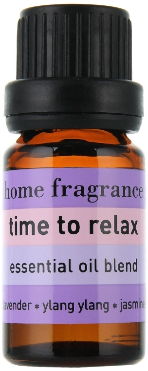 Entspannende Ölmischung mit Lavendel, Ylang-Ylang und Jasmin - Apivita Aromatherapy Essential Oil Time to Relax  — Bild N2
