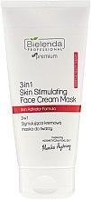 Düfte, Parfümerie und Kosmetik 3in1 Stimulierende Creme-Maske - Bielenda Professional Individual Beauty Therapy 3in1 Skin Stimulating Face Cream Mask