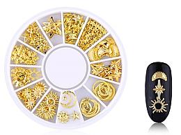 Düfte, Parfümerie und Kosmetik Nageldekorastion Gold-4 - Deni Carte
