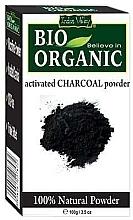 Düfte, Parfümerie und Kosmetik Bio organische Aktivkohle für Gesichts- und Haarpflege - Indus Valley Bio Organic Activated Charcoal Powder