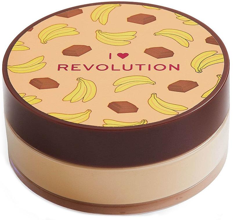 Loser Gesichtspuder Schockolade und Banane - I Heart Revolution Loose Baking Powder Chocolate Banana