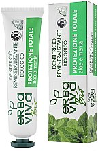 Düfte, Parfümerie und Kosmetik Zahncreme mit Menthol und Aloe Vera - Erba Viva Bio Toothpaste Total Protection