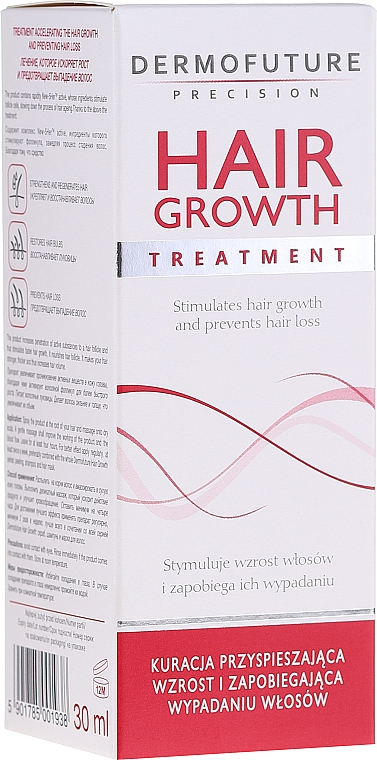 Pflegekur zur Stimulierung des Haarwachstums - DermoFuture Hair Growth Peeling Treatment