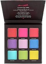 Düfte, Parfümerie und Kosmetik Lidschattenpalette - Barry M Eyeshadow Palette Neon Brights