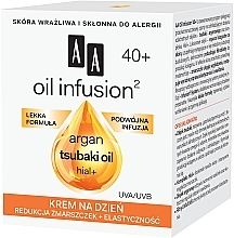Anti-Falten Tagescreme - AA Oil Infusion Day Cream Against Wrinkles 40+ — Bild N2