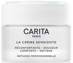 Düfte, Parfümerie und Kosmetik Beruhigende Gesichtscreme mit Baumwollzellen-Extrakt - Carita La Creme Sensidote