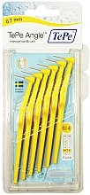 Düfte, Parfümerie und Kosmetik Interdentalbürsten gelb 6 St. - TePe Interdental Brushes Angle Yellow 0,7mm