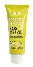 Düfte, Parfümerie und Kosmetik Beruhigende und schützende Handcreme mit Sheabutter und Sojaöl - Delia Good Hand S.O.S Relief Protection Hand Cream