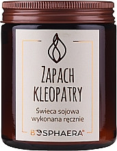 Düfte, Parfümerie und Kosmetik Duftende Soja-Kerze Kleopatra - Bosphaera The Scent of Cleopatra Candle