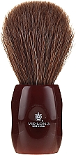 Düfte, Parfümerie und Kosmetik Rasierpinsel 12705 - Vie-Long Peleon Horse Hair Shaving Brush Red Handle