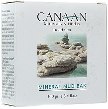 Düfte, Parfümerie und Kosmetik Schlamm-Seife Kräuter und Mineralien - Canaan Minerals & Herbs