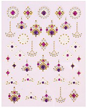 Düfte, Parfümerie und Kosmetik Nagelsticker - Peggy Sage Decorative Nail Stickers Luxury (1 St.)