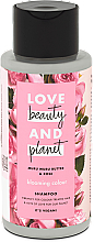 Düfte, Parfümerie und Kosmetik Haarshampoo mit Muru Muru und Rose - Love Beauty&Planet Muru Muru Butter & Rose
