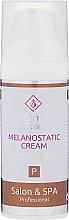 Düfte, Parfümerie und Kosmetik Aufhellende Gesichtscreme gegen Pigmentflecken mit Glykolsäure und Niacinamiden SPF15 - Charmine Rose Salon & SPA Professional Melanostatic Cream SPF 15