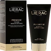 Düfte, Parfümerie und Kosmetik Anti-Aging Gesichtsmaske für reife Haut - Lierac Premium Supreme Mask