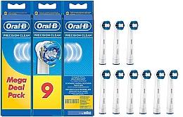 Düfte, Parfümerie und Kosmetik Austauschbare Zahnbürstenköpfe für elektrische Zahnbürste Precision Clean 9 St. - Oral-B Precision Clean