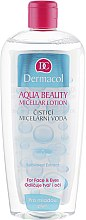 Düfte, Parfümerie und Kosmetik Mizellen-Reinigungslotion für junge Haut mit Gurkenextrakt - Dermacol Aqua Beauty Micellar Lotion