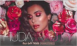 Düfte, Parfümerie und Kosmetik Lidschattenpalette - Huda Beauty Rose Gold Palette