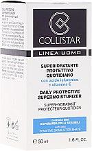 Set - Collistar Daily Protective Supermoisturizer (cr/50ml + cr/15ml) — Bild N2