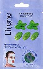 Düfte, Parfümerie und Kosmetik Tief feuchtigkeitsspendende Peelingsgesichtsmaske mit Algen und Pfefferminzöl - Lirene Peel-Off