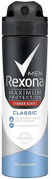 Deospray Antitranspirant - Rexona Maximum Protection Classic Men Deospray
