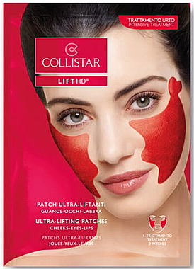 Gesichtspatches mit Lifting-Effekt - Collistar Lift HD Ultra-Lifting Patches