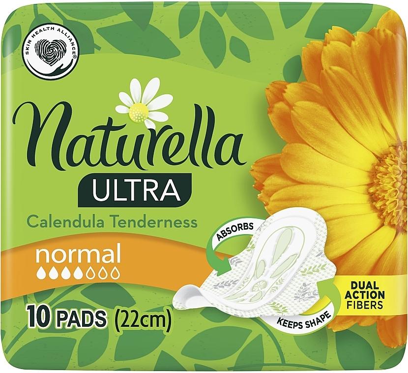 Damenbinden mit Flügeln 10 St. - Naturella Ultra Calendula Normal