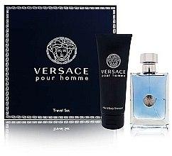 Düfte, Parfümerie und Kosmetik Versace Versace Pour Homme - Duftset (Eau de Toilette/100ml + 2in1 Shampoo/150ml)