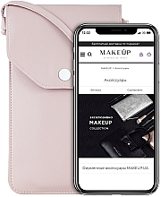 Düfte, Parfümerie und Kosmetik Handytasche zum Umhängen Cross Puder - Makeup Phone Case Crossbody Powder