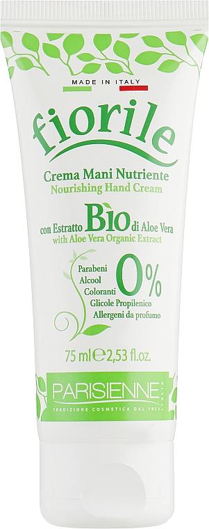 Pflegende Handcreme mit Bio Aloe Vera - Parisienne Italia Fiorile Aloe Vera Hand Cream