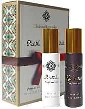 Düfte, Parfümerie und Kosmetik Hrabina Rzewuska Katara & Pearl Parfume - Duftset (Parfumöl 2x10ml)