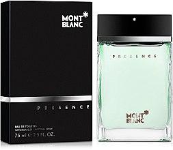 Düfte, Parfümerie und Kosmetik Montblanc Presence - Eau de Toilette