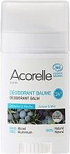 Düfte, Parfümerie und Kosmetik Bio Deostick mit Wacholder und Minze - Acorelle Deodorant Balm