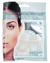 Düfte, Parfümerie und Kosmetik Kollagen-Maske für das Gesicht mit Silberpartikeln - Beauty Face Collagen Hydrogel Mask