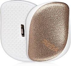 Düfte, Parfümerie und Kosmetik Kompakte Haarbürste - Tangle Teezer Compact Styler Glitter Gold