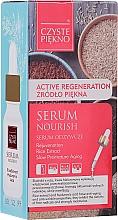 Düfte, Parfümerie und Kosmetik Pflegendes Gesichtsserum mit Reisextrakt und Hyaluronsäure - Czyste Piekno Face Serum