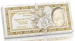 Düfte, Parfümerie und Kosmetik Naturseifen-Geschenkset - Saponificio Artigianale Floral Bouquet Soap (3x125g)
