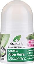 Düfte, Parfümerie und Kosmetik Deo Roll-on mit Aloe Vera - Dr. Organic Bioactive Skincare Aloe Vera Deodorant