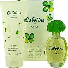 Düfte, Parfümerie und Kosmetik Gres Cabotine - Duftset (Eau de Toilette 100ml + Körperlotion 200ml)